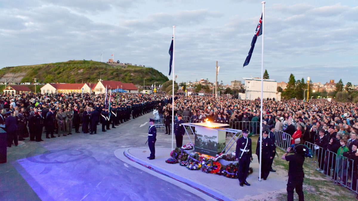 Community at ANZAC Day Dawn Service