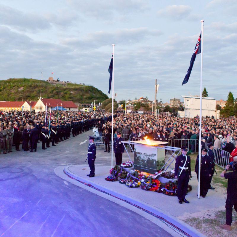 Community at ANZAC Day Dawn Service