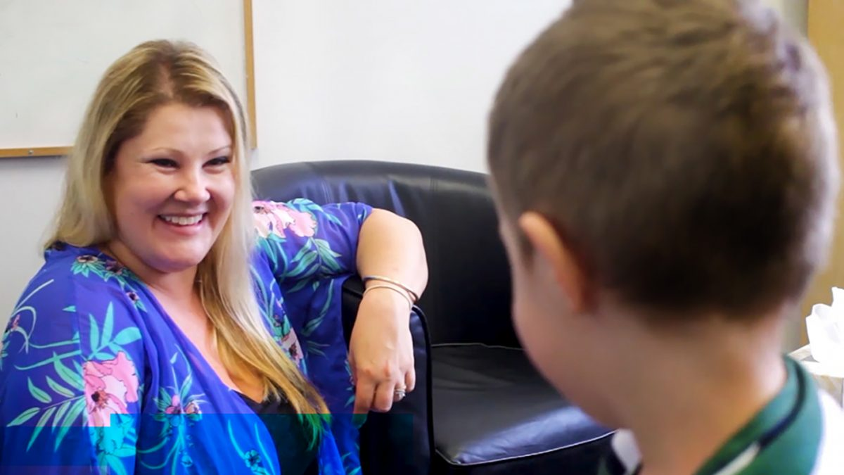Pro care Services parent and child laughing together