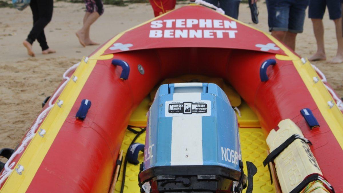 Nobby's Surf Life Saving Club IRB