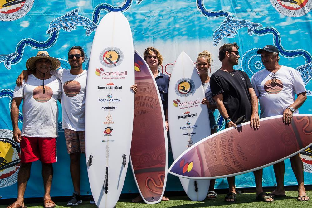 wandiyali indigenous surf classic winner
