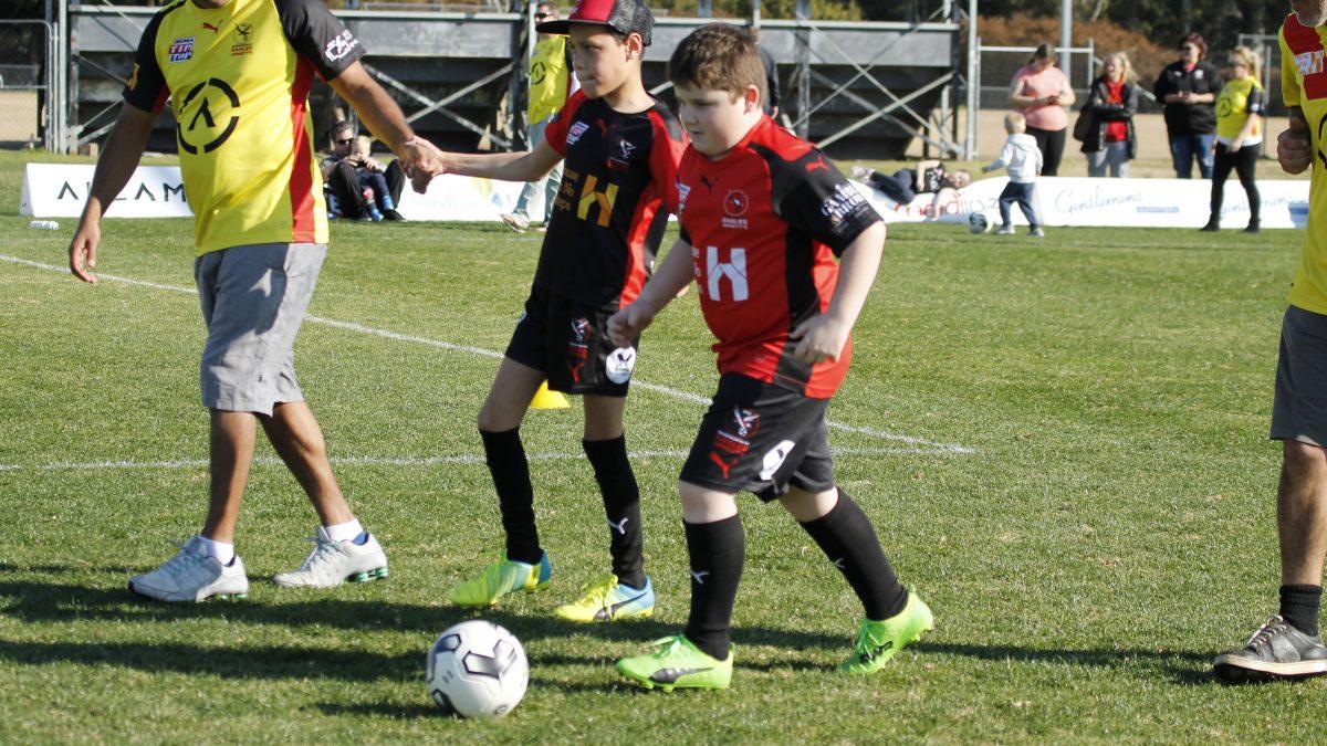 arnetts program football match