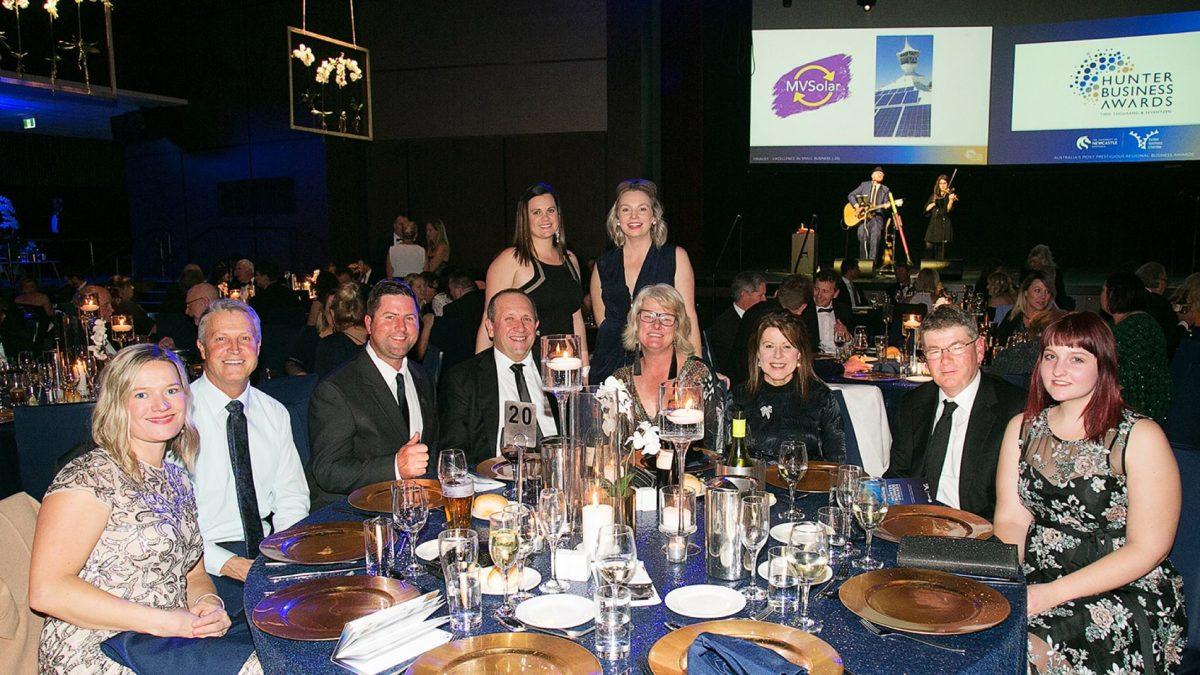 Jenny's Place group photo at Hunter Business Awards