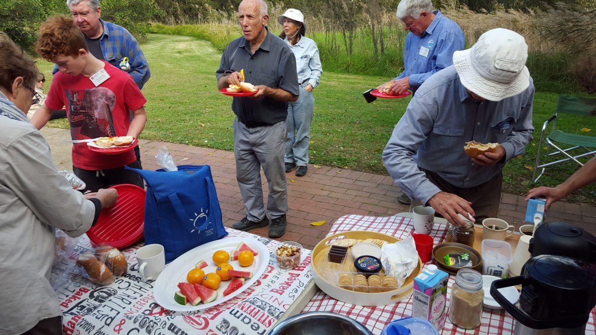Kooragang Convivial volunteer gathering at Schoolmasters House