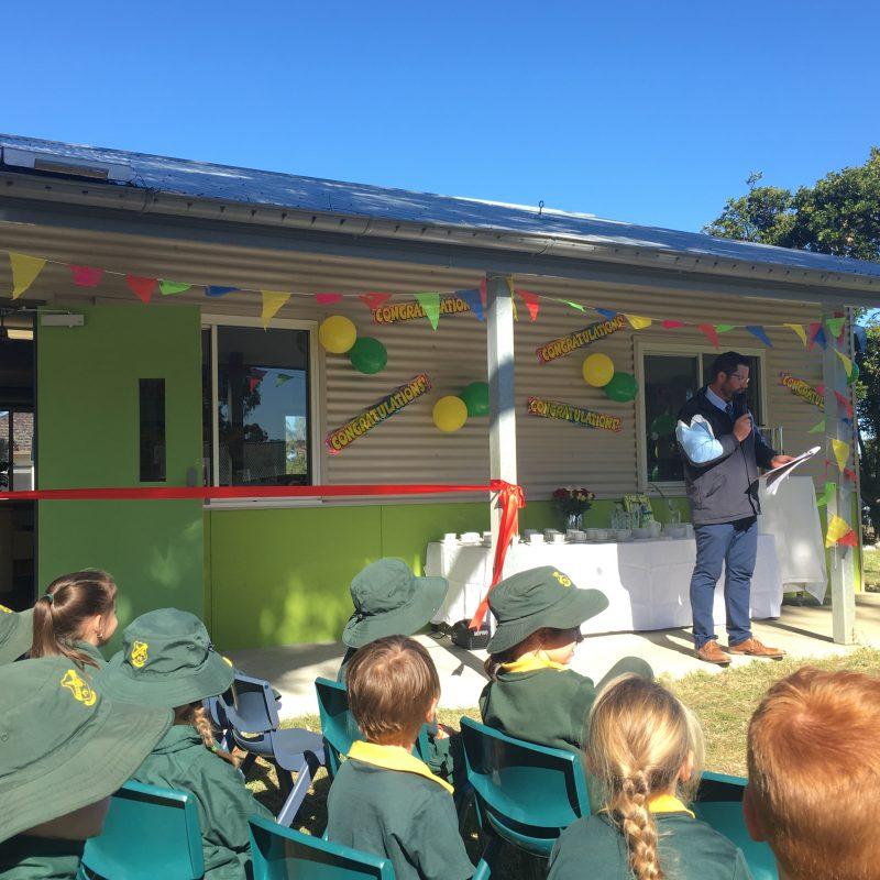 Portside school library opening